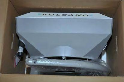 монтажная консоль с крепежом поставляется бесплатно в комплекте с Волкано ВР